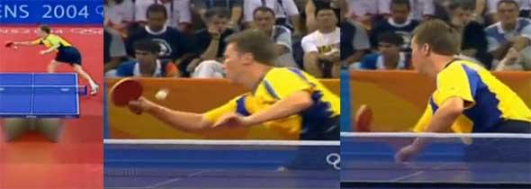 发力·平衡·连续-乒乓球双手直拍横打高台跨越及